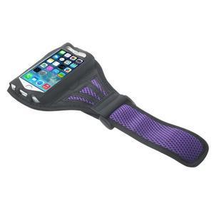 Absorb športové puzdro na telefón do veľkosti 125 x 60 mm -  fialové - 3
