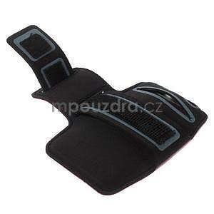 Bežecké puzdro na ruku pre mobil do veľkosti 152 x 80 mm - rose - 3