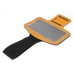 Soft puzdro na mobil vhodné pre telefóny do 160 x 85 mm - žlté - 3