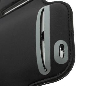 Čierne puzdro na ruku do veľkosti mobilu 125 x 61 mm - 3