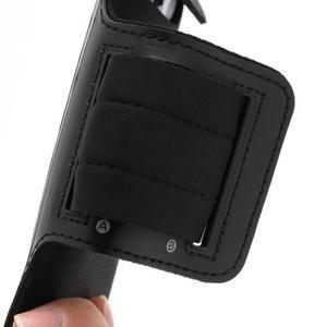 Športové puzdro na ruku až do veľkosti mobilu 140 x 70 mm - čierne - 3