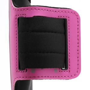 Športové puzdro na ruku až do veľkosti mobilu 140 x 70 mm - rose - 3