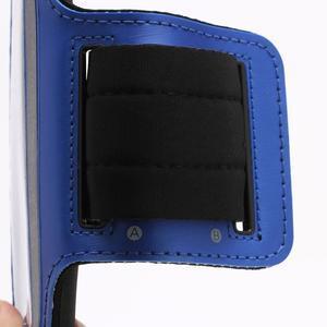 Športové puzdro na ruku až do veľkosti mobilu 140 x 70 mm - modré - 3