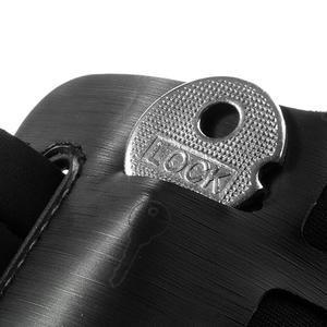 Sports Gym puzdro na ruku pre veľkosť mobilu až 140 x 70 mm - čierne - 3
