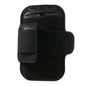 Fit Gym puzdro na ruku pre telefón až do veľkosti 145 x 73 mm - čierne - 3