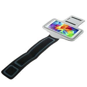 Fitsport puzdro na ruku pre mobil do veľkosti až 145 x 73 mm - šedé - 3