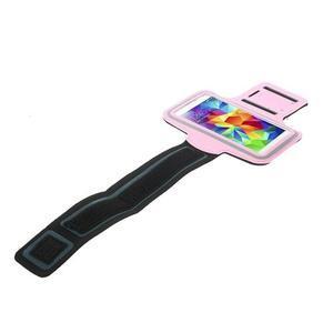 Fitsport puzdro na ruku pre mobil do veľkosti až 145 x 73 mm - ružové - 3