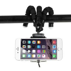 Trojnožkový stativ pre mobilní telefony - čierny - 3