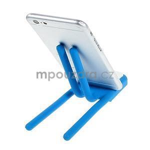 Tvarovatelný stojánek na mobil, modrý - 3
