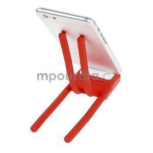 Tvarovatelný stojánek na mobil, červený - 3