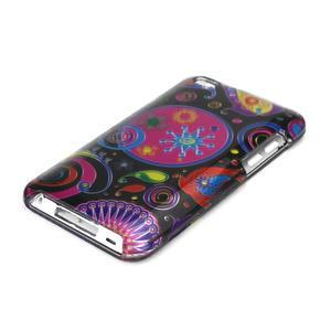 Plastové puzdro na iPod Touch 4 - farebné vzory - 3
