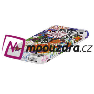 Plastové puzdro na iPod Touch 5 - květy - 3