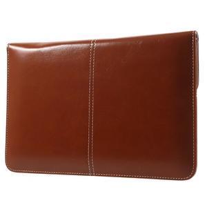 Business univerzálne puzdro pre tablet do rozmerov 226 x 149 mm - hnedé - 3