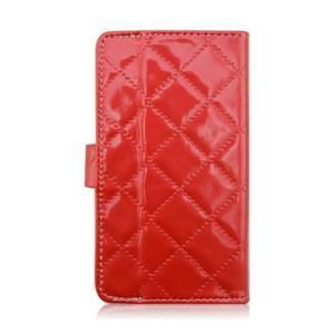 Luxury univerzálne puzdro pre mobil do 148 x 76 x 21 mm - červené - 3