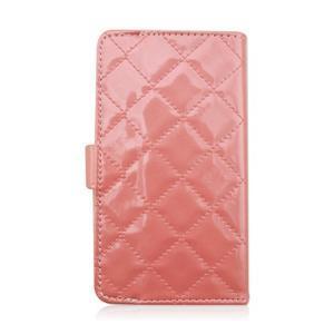Luxury univerzálne puzdro pre mobil do 148 x 76 x 21 mm - ružové - 3