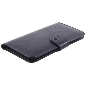 Univerzálne puzdro pre mobil do 175 x 80 x 10 mm - tmavomodré - 3