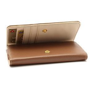 Softy univerzálne puzdro pre mobil do 137 × 71 × 8,6 mm - hnedé - 3
