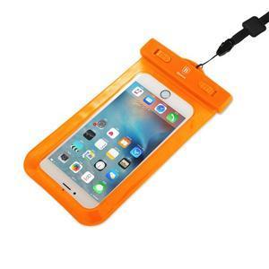 Base IPX8 vodotesný obal pre mobil do 158 x 78 mm - oranžový - 3
