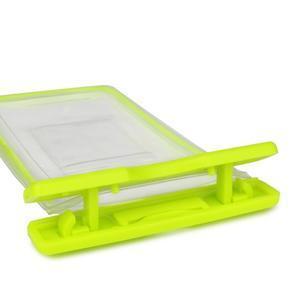 Fluorescent IPX8 vodeodolný obal pre mobil do 158 x 78 mm - rose - 3