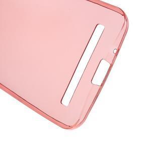 Ultra tenký slim gélový obal na Asus Zenfone 2 ZE500CL - červený - 3