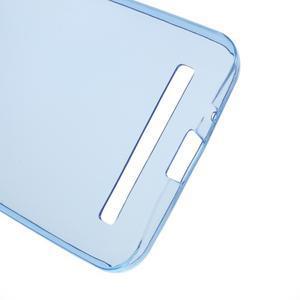 Ultra tenký slim gélový obal na Asus Zenfone 2 ZE500CL - modrý - 3