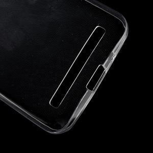 Ultra tenký slim gélový obal na Asus Zenfone 2 ZE500CL - transparentný - 3