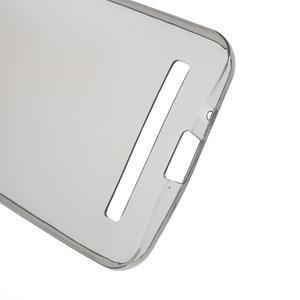 Ultra tenký slim gélový obal na Asus Zenfone 2 ZE500CL - šedý - 3