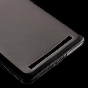 Matný gelový obal na mobil Lenovo K5 Note - šedý - 4