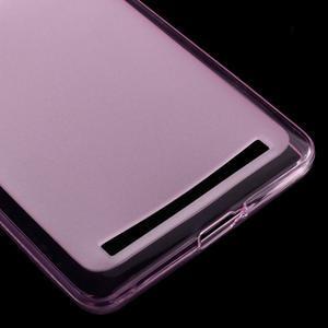 Matný gélový obal pre mobil Lenovo K5 Note - ružový - 4