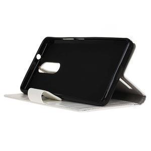 Horse PU kožené pouzdro na mobil Lenovo K5 Note - bílé - 4