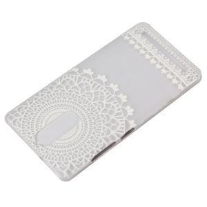 Gelový obal na mobil Lenovo K5 Note - krajky - 4