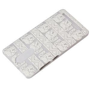 Gelový obal na mobil Lenovo K5 Note - sloni - 4