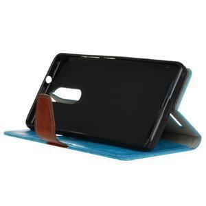 Colory knížkové puzdro pre Lenovo K5 Note - modré - 4