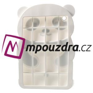 3D silikónové puzdro pre iPad mini 2 - čierná panda - 4