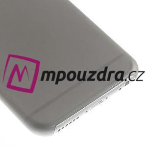 Ultra slim 0.3 mm plastové puzdro pre iPhone 6, 4.7  - sivé - 4
