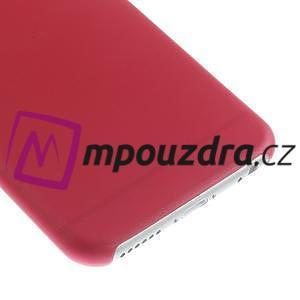 Ultra slim 0.3 mm plastové puzdro na iPhone 6, 4.7  - červené - 4