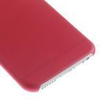 Ultra slim 0.3 mm plastové puzdro na iPhone 6, 4.7  - červené - 4/5