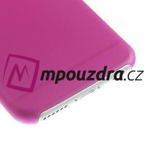 Ultra slim 0.3 mm plastové puzdro pre iPhone 6, 4.7  - ružové - 4