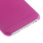 Ultra slim 0.3 mm plastové puzdro pre iPhone 6, 4.7  - ružové - 4/5