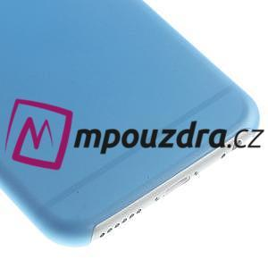 Ultra slim 0.3 mm plastové puzdro pre iPhone 6, 4.7  - modré - 4
