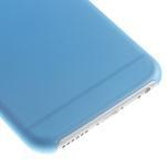 Ultra slim 0.3 mm plastové puzdro pre iPhone 6, 4.7  - modré - 4/5