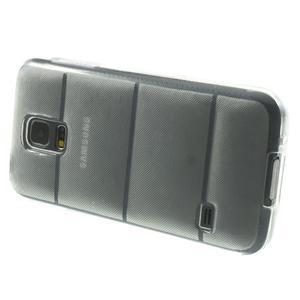 Gelové pouzdro na Samsung Galaxy S5 mini G-800- vesta transparentní - 4
