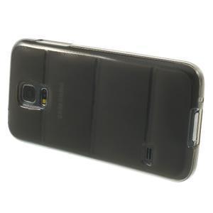 Gélové puzdro na Samsung Galaxy S5 mini G-800- vesta šedá - 4