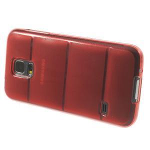 Gelové pouzdro na Samsung Galaxy S5 mini G-800- vesta červená - 4