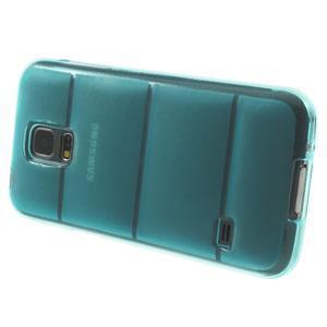 Gelové pouzdro na Samsung Galaxy S5 mini G-800- vesta světlemodrá - 4