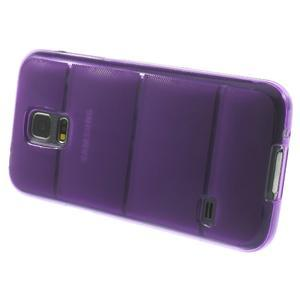 Gélové puzdro pre Samsung Galaxy S5 mini G-800- vesta fialová - 4