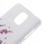 Gélové puzdro pre Samsung Galaxy Note 4- kvitnúca vetvička - 4/5