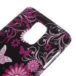 Gélové puzdro pre Samsung Galaxy Note 4- farebné motýle - 4/5