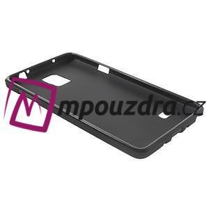 Gélové puzdro pre Samsung Galaxy Note 4- čierné - 4