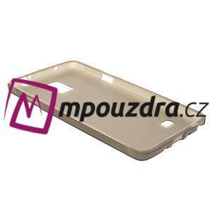 Gélové puzdro na Samsung Galaxy Note 4- šedé - 4
